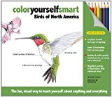 img - for Color Yourself Smart: Birds of North America book / textbook / text book