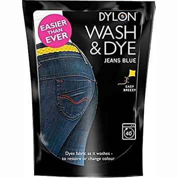 DYLON WASH & DYE 400g [Jeans Blue,2]: Amazon.es: Hogar