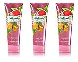 Bath & Body Works Ultra Shea Cream Watermelon Lemonade (3 Pack)