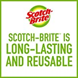 Scotch-Brite Stainless Steel Scrubbers, Ideal for