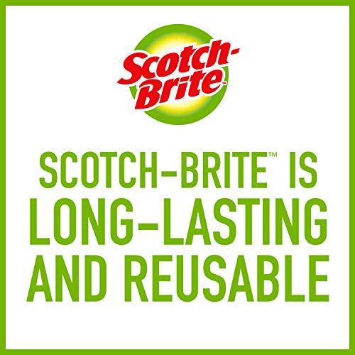 Scotch-Brite Greener Clean Non-Scratch Scrub Sponges, 6 Scrub Sponges