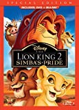 The Lion King II: Simba's Pride (Two-Disc Blu-ray/DVD Combo in DVD packaging)