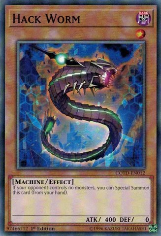 Hack Worm - COTD-EN012 - Common - 1st Edition - Code of the Duelist (1st Edition) ()