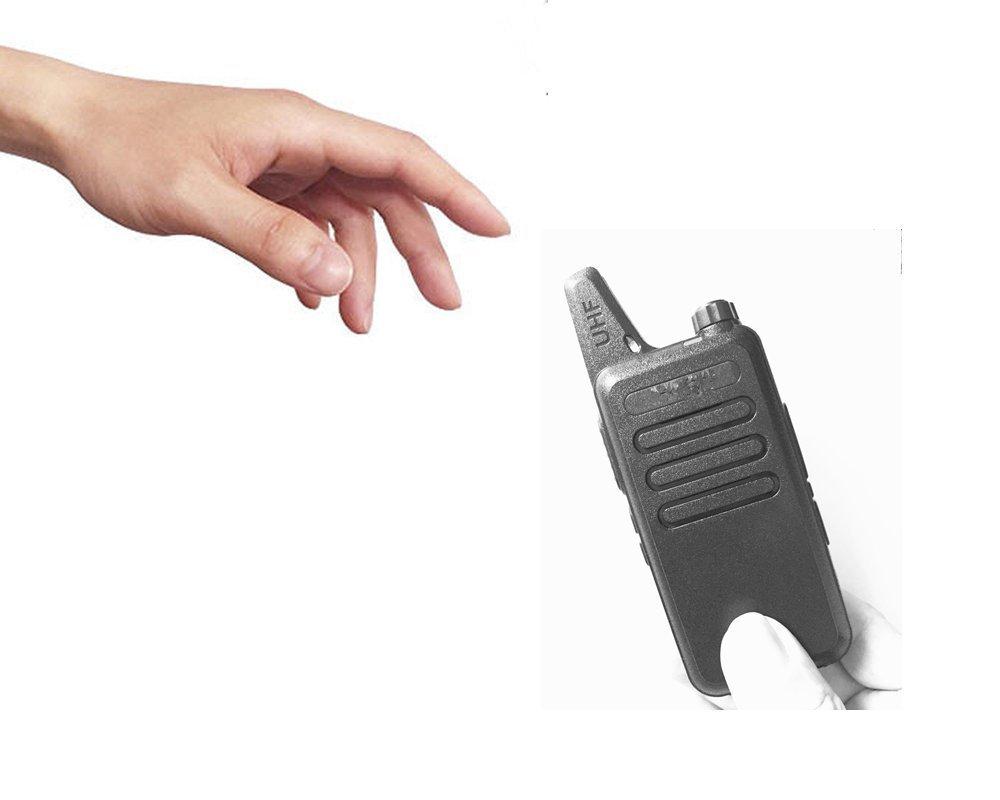 Radtel RT-10 Mini Two Way Radio UHF 400-470Mhz 3W Kid's Walkie Talkie , for Outdoor Camping Hiking Hunting Gift (10 Pack) by radtel (Image #9)