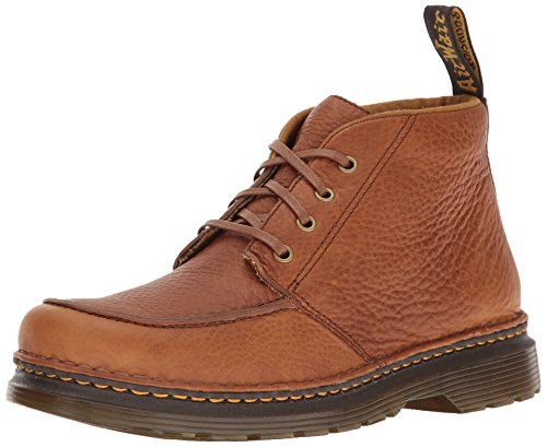 Dr. Martens Mannen Austin Derby Lace Up Brogues Tan