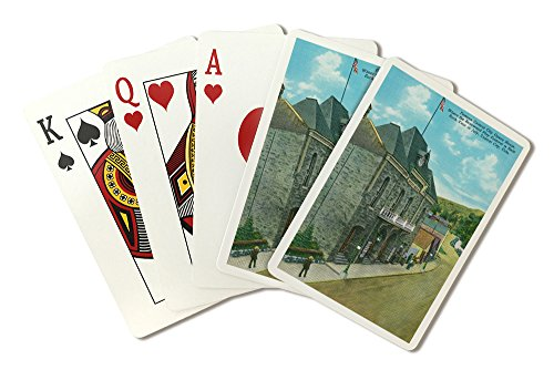 Central City, Colorado - Exterior View of the Famous Opera House (Playing Card Deck - 52 Card Poker Size with Jokers)