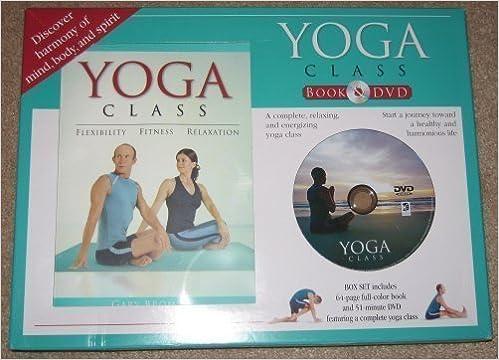 Yoga Class Book & DVD (Yoga Class Book & DVD): Gary Bromley ...