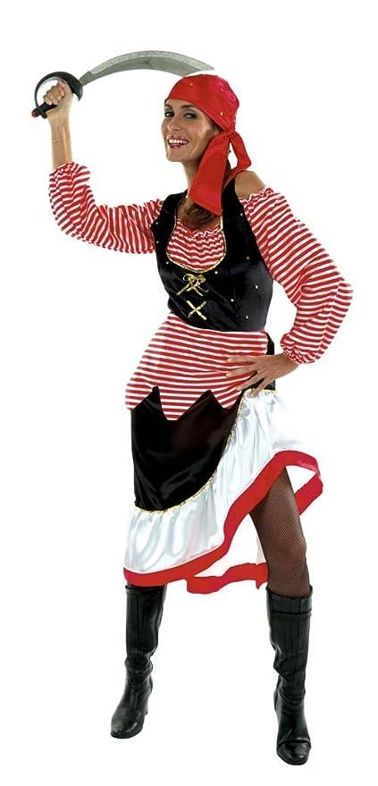 Cesar D279-006 - Disfraz de pirata para mujer, talla 42: Amazon.es ...