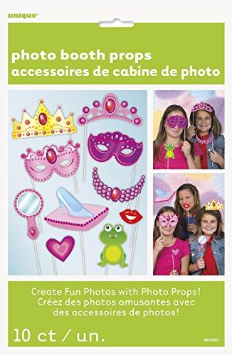 - Princess Photo Booth Props, 10pc