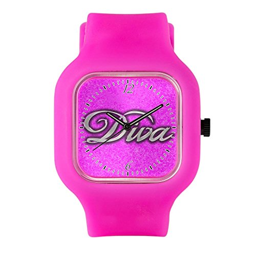 Bright Pink Fashion Sport Watch Pink Diva Princess by Royal Lion