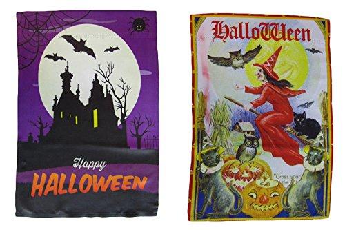 ALBATROS 12 inch x 18 inch Happy Halloween