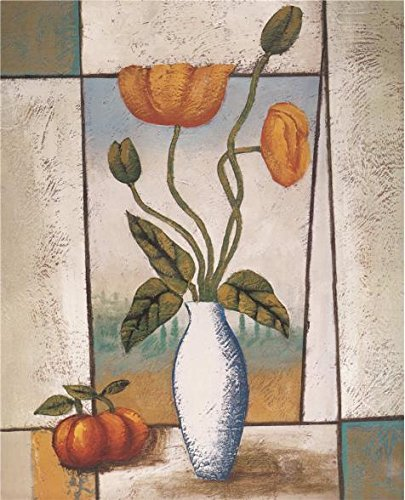 Oil Painting 'Vase With Yellow Flowers And Fruits', 24 x 30 inch / 61 x 75 cm , on High Definition HD canvas prints is for Gifts And Dining Room, Kids Room And Study Room Decoration, home