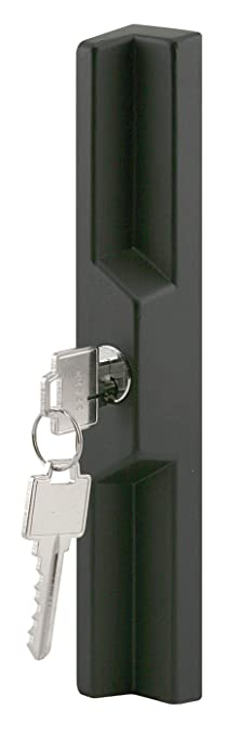 door lock and key black and white.  And PrimeLine C 1041 Keyed Sliding Door Outside Pull Diecast Construction  Black 31516 In U0026 41516 In Pack Of 1  Replacement Appliance Fastener  To Lock And Key Black White H