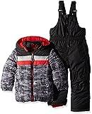 iXtreme Baby Boys Infant Camo Print Snowsuit, Black, 18M