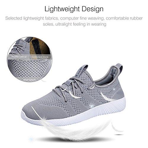 pour QIMAOO Sports Course pour Basket Randonnée Gym Confortable Homme Chaussures Respirant Outdoor Jogging Sneakers Femme Et Fitness de vvwpr7
