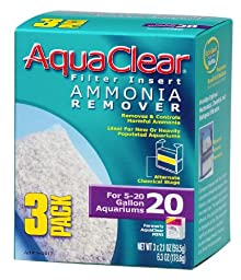 Aquaclear 20-gallon Ammonia Remover 18-Pack (6 Packs of 3)