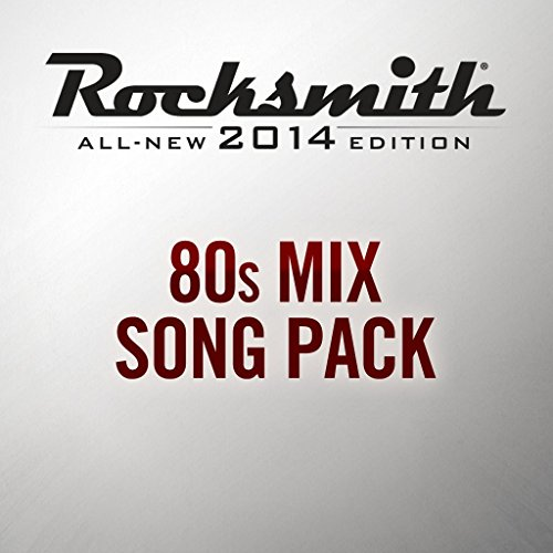 Rocksmith 2014 - 80s Mix Song Pack - PS4 [Digital Code]