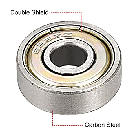 2 62//28-2RS 28x58x16 28mm//58mm//16mm 62//28RS Ball Sealed Radial Ball Bearings