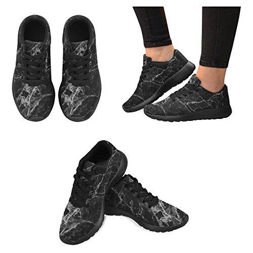 Interestprint Femmes Mocassins Classiques Toile Casual Slip Sur La Mode Chaussures Sneakers Mary Jane Plat Multi 7