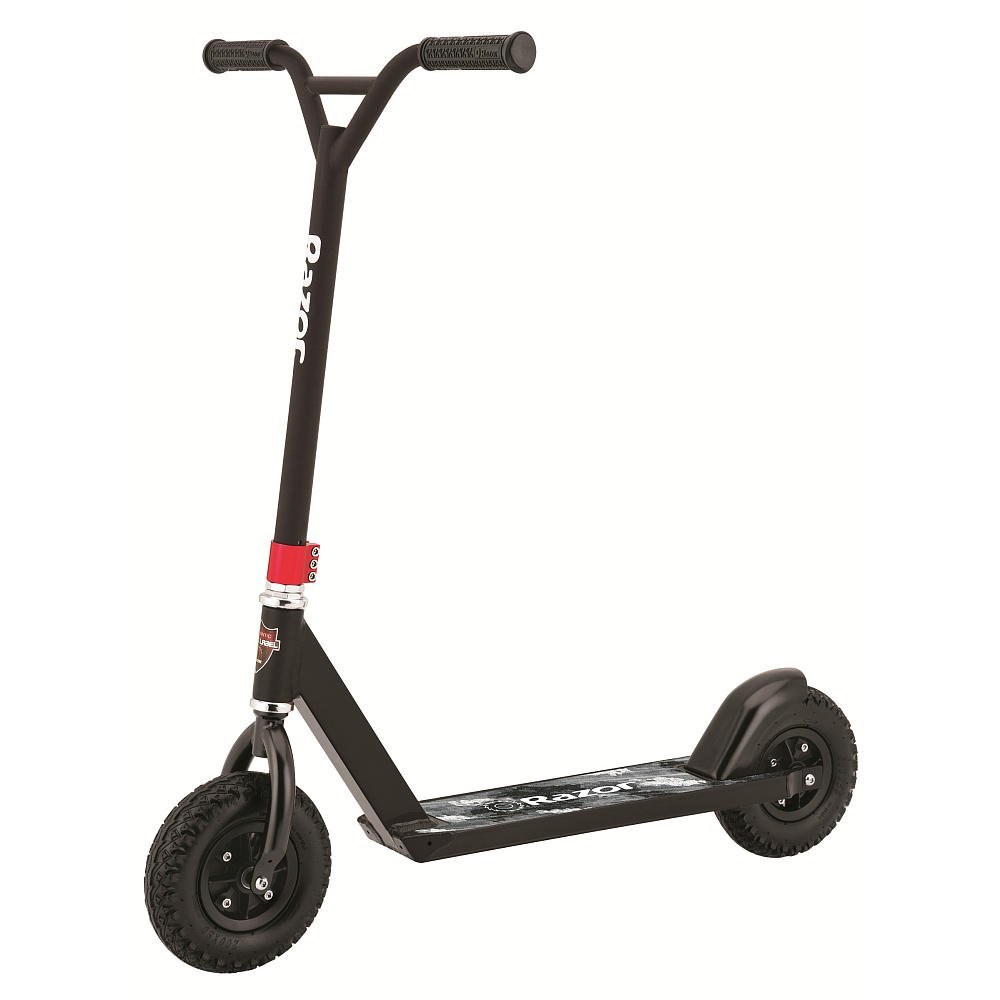 Razor Black Label Pro Dirt Scoot Off-Road Kick Scooter - Black