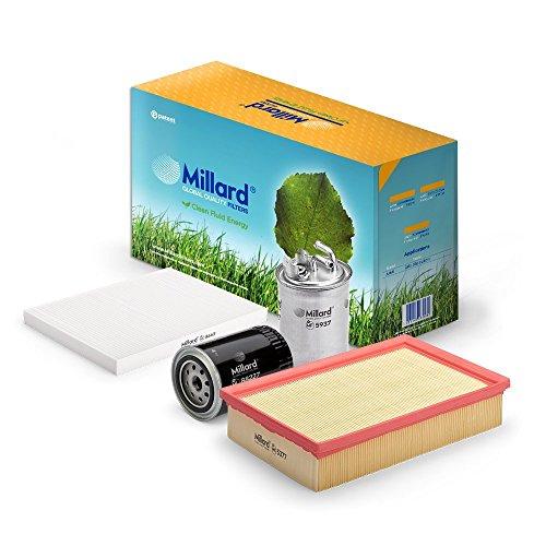 Millard Filters - Kit de filtros para Cordoba 1 y Ibiza 2, Caddy 2 y Polo 3