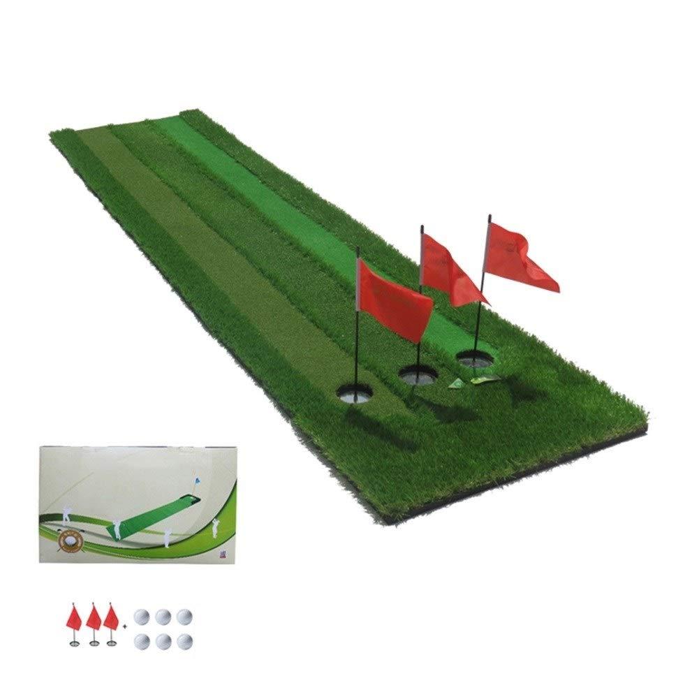 専門のゴルフパッティングマットの練習毛布、裏庭 - 70×300CMのための屋外の緑のゴルフパッティングマット (Color : 02)