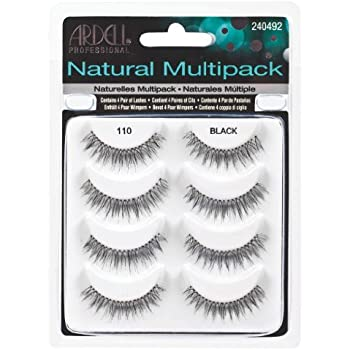 94f923b903f Amazon.com : Ardell Natural Multipack Lashes - #110 Black (Pack of 2 ...