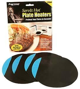 Progressus ServIt Hot Plate Heaters, Pack of 4