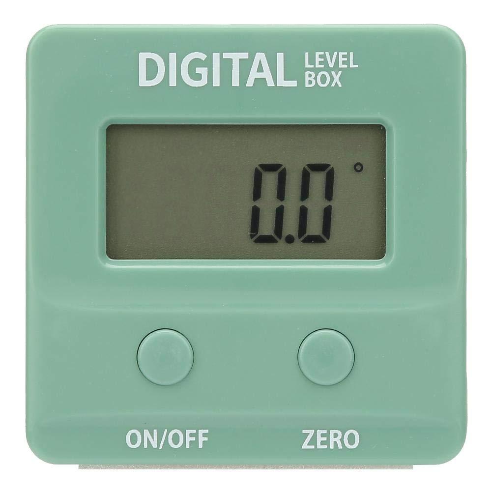 Lot de 4 mini d/étecteurs dangle num/ériques /à 90 /° avec base magn/étique en plastique ABS pour rapporteur /électrique haute pr/écision avec /écran LCD