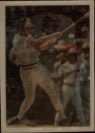 Amazoncom 1986 Sportflics Baseball Card 8 Cal Ripken Near Mint