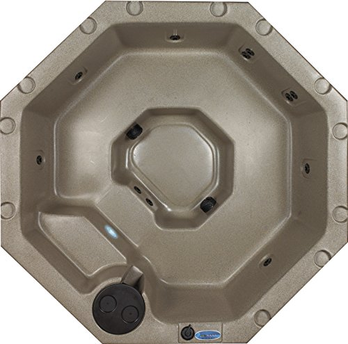 (Essential Hot Tubs SS13150300 Integrity-11 Jet Hot Tub, Cobblestone)