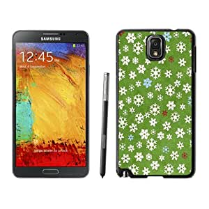 NEW DIY Unique Designed Samsung Galaxy Note 3 Phone Case For Snowflakes Background Texture Phone Case Cover