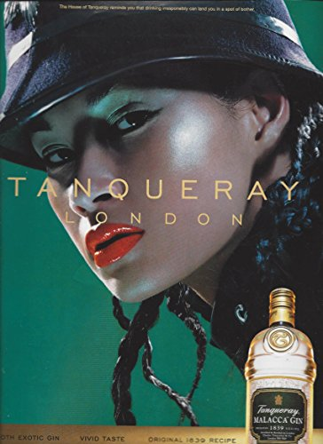 print-ad-for-tanqueray-malacca-gin-lady-in-hat-sceneprint-ad