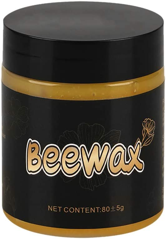 1/2PC Wood Seasoning Beewax - Traditional Beeswax Polish for Wood & Furniture, All-Purpose Beewax for Wood Cleaner and Polish Wipes - Non Toxic for Furniture to Beautify & Protect, No Build-Up (1PC)