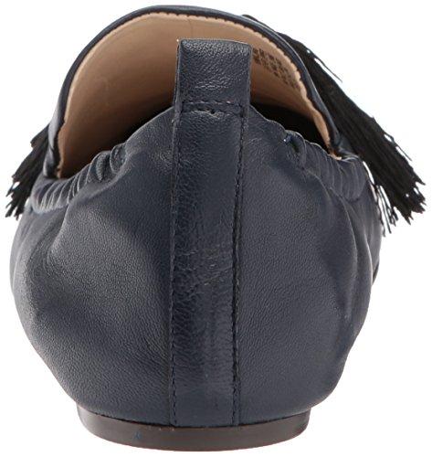 Frauen Leder West Nine Loafers Marineblau YZWX6