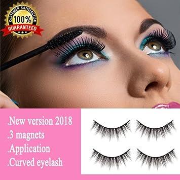 Premium Magnetic Eyelashes Full Eye [No Glue] - Magnetic Fake Eye Lashes Ultra Thin