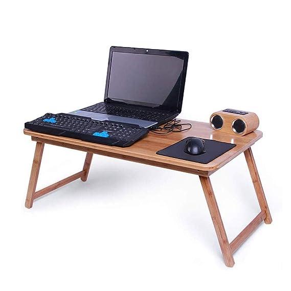 LUCKY - Mesa Plegable para Ordenador portátil, diseño de Estilo ...
