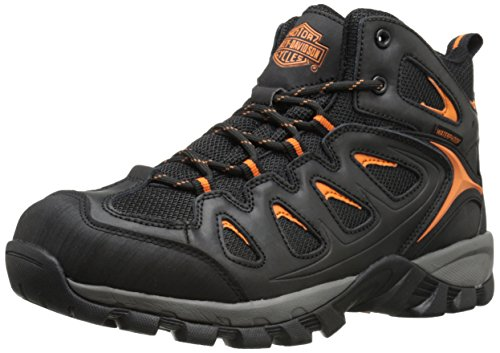Harley-Davidson Men's Woodridge Waterproof Hiker, Black, 11 M US