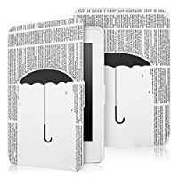 Capa Case Kindle Paperwhite WB Auto Liga/Desliga - Ultra Leve Chuva de Letras