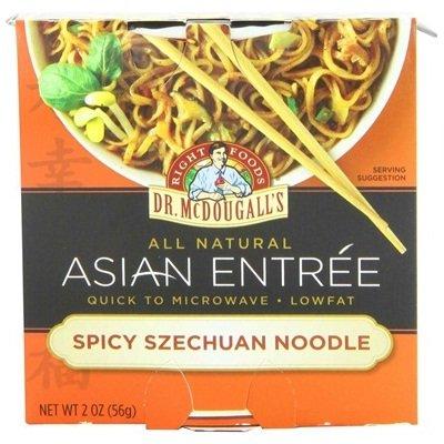 Dr. Mcdougall's Spicey Szechuan Noodle Cup 6x 2OZ