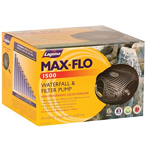 Laguna Max-Flo 960 Waterfall and Filter Pump for Ponds Up to 1920-Gallon by Laguna