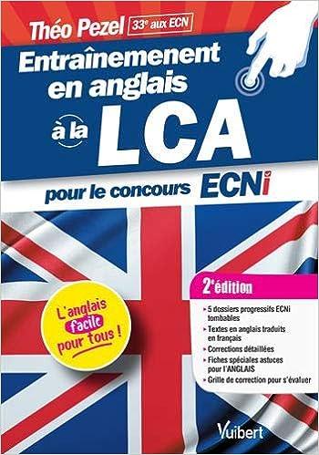 32ae6e592e2a6 Amazon.fr - Entraînement en anglais à la LCA pour le concours ECNi ...