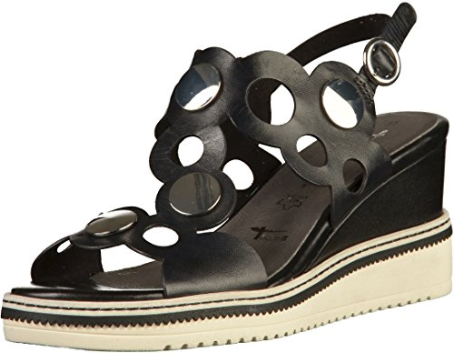 Tamaris 1-28030-30 Womens Sandals Black Vhb04p3