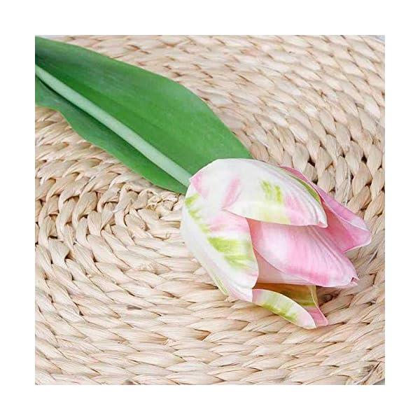 CoronationSun – Artificial Tulips – Artificial Tulips Flower Home Wedding DIY Decorative