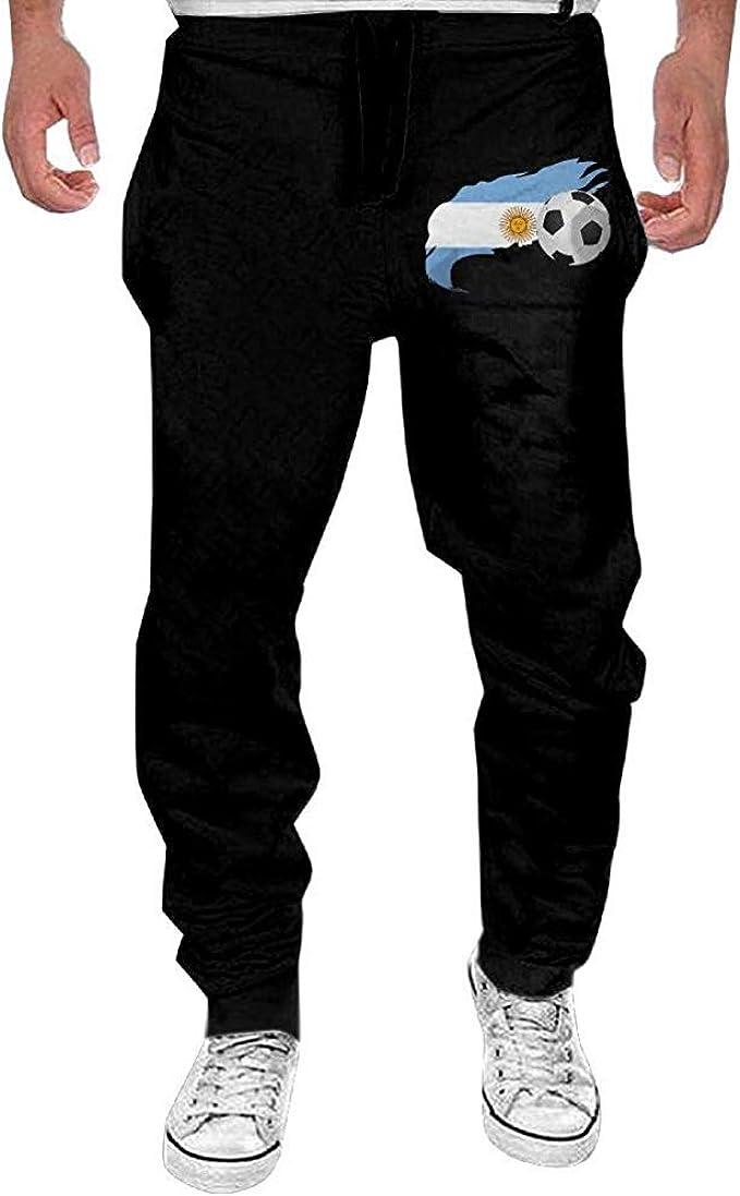 Emild Balón de fútbol para Hombres con Pantalones de chándal ...