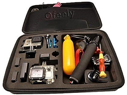 Ofeely bolso de la caja a prueba de golpes impermeable ...