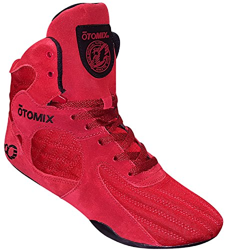 Otomix Men's Stingray Escape Bodybuilding Lifting MMA & Wrestling Shoes Red 14