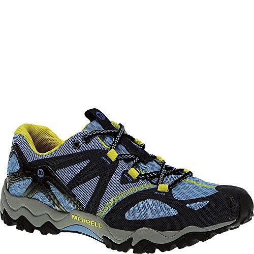 Merrell Air - Merrell Women's Grassbow Air Trail Running Shoe,Blue/Navy,5 M US