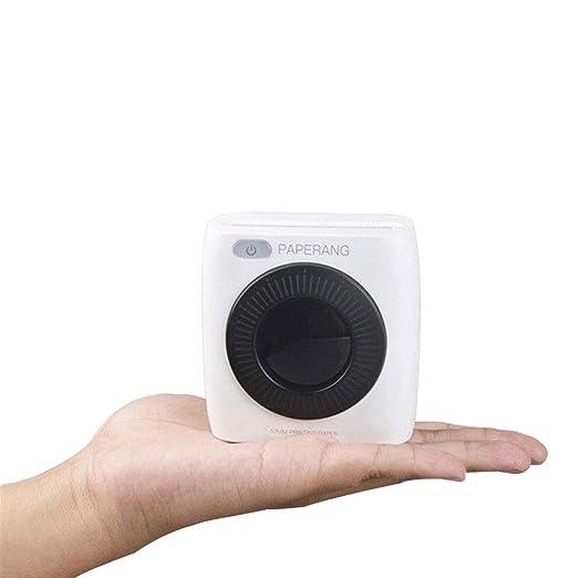 BVufg 300DPI Paperang P2 - Impresora térmica con cámara Bluetooth ...