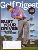 GOLF DIGEST Magazine (Sept 2010) BUST Your Drives by Graeme McDowell